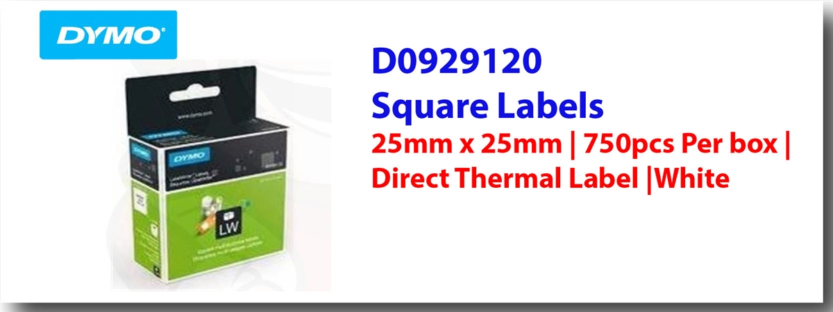 DYMO Labelwriter Square Labels